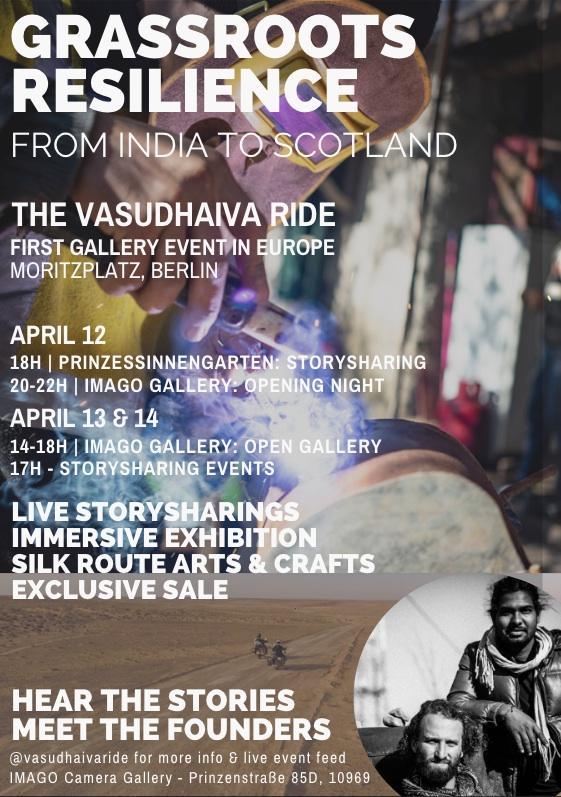 VasudhaivaRide-Berlin-Event-Poster