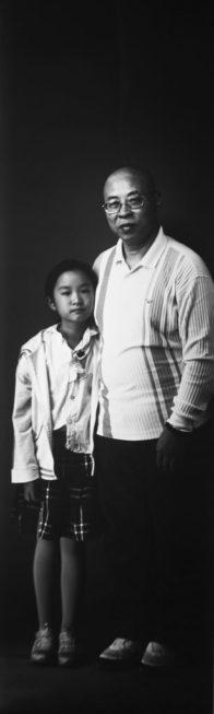 Großvater mit Enkelin 2015