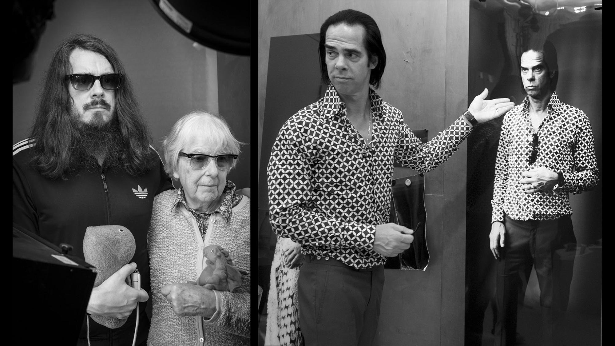 7_Portraitsessions Johnathan & Brigitte Meese und Nick Cave